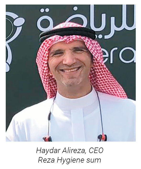 Haydar Alireza CEO