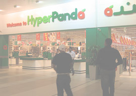 Panda Supermarkets choose Durability, Service & Cost effectiveness