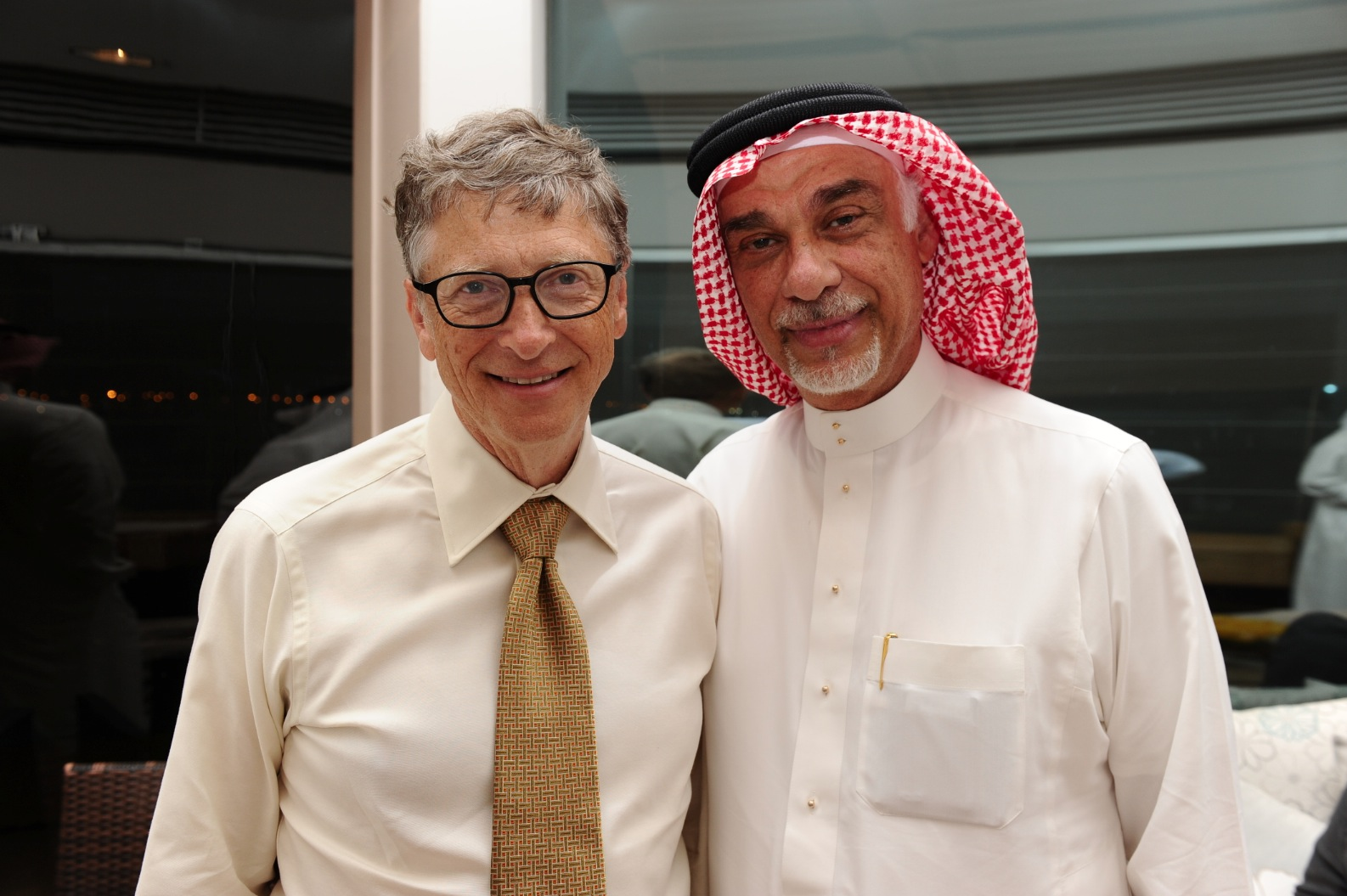 Alireza Family host Bill Gates