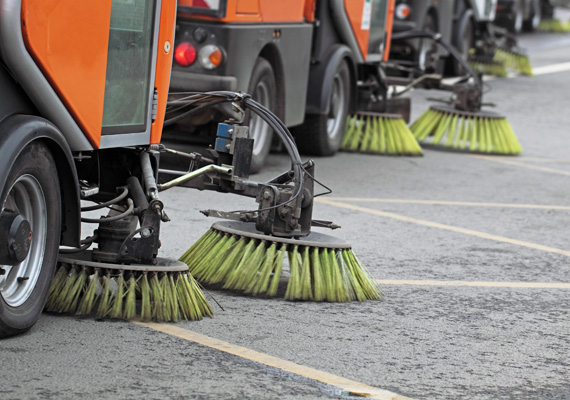 Floor Machinery - Sweeping