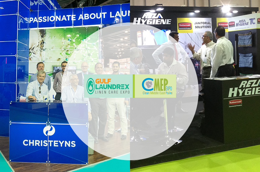 Clean Middle East Expo (Gulf Laundrex Linen Care Expo & Clean Middle East Pulire Expo)