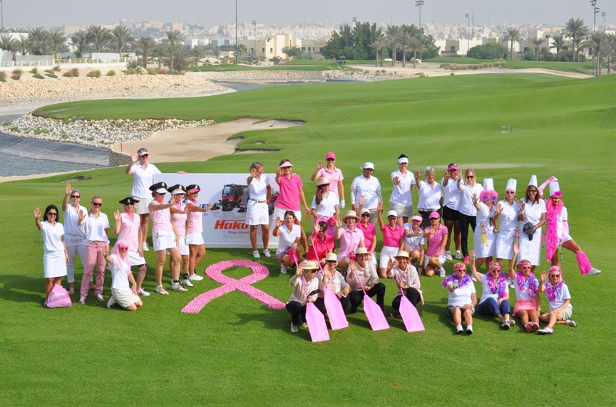 Think Pink Bahrain Charity Golf Day