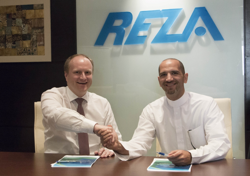 Partnership agreement between Reza Hygiene & Christeyns