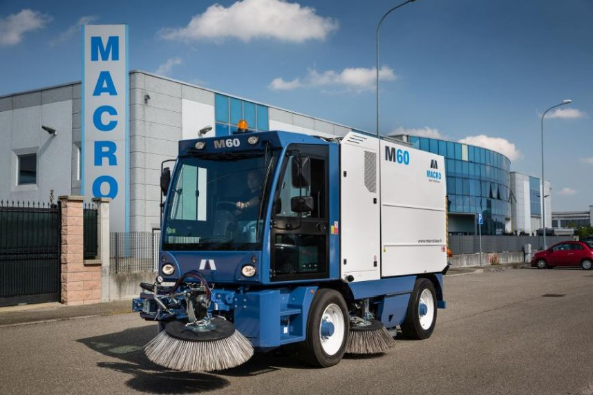Distribution partnership with Macroclean S.R.L.